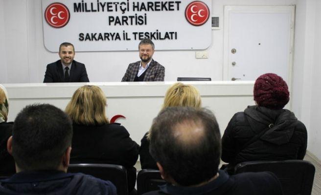 MHP Adapazarı'nda ilk toplantı mahalle başkanlarıyla...