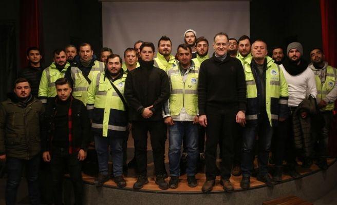 Büyükşehir'den Park54 personeline eğitim