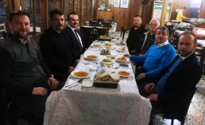 Başkan Pilavcı, gazetecilerle buluştu