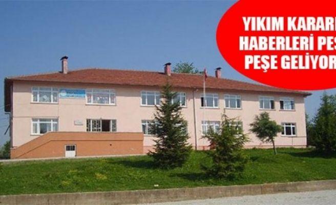 Hendek'te 3 okul için yıkım kararı