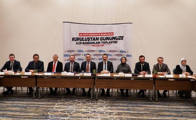 AKP'de ilçe başkanlarına vefa toplantısı