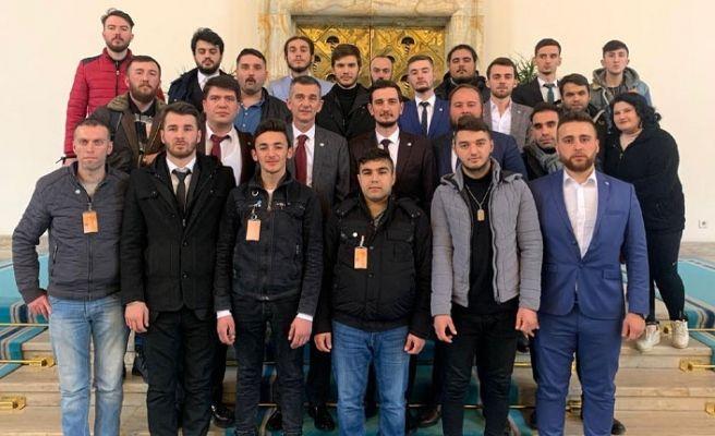 İyi Partili gençlerden Ankara turu...