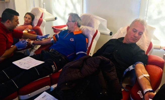 AFAD'dan kan bağışı