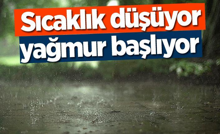 Sakarya'da yağışlı hava etkili olacak