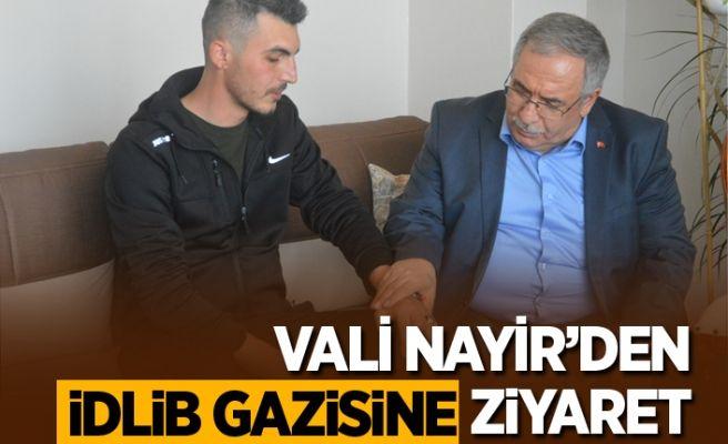 Vali Nayir'den İdlib gazisi Kara'ya ziyaret