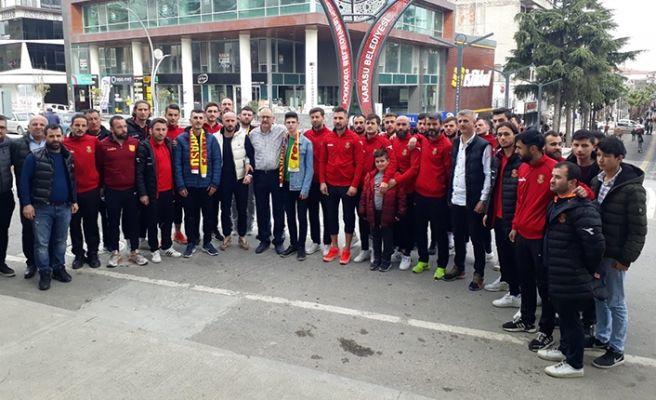 Karasuspor'dan İdlib Gazisine ziyaret
