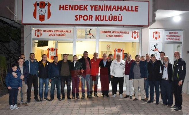 Hendek'teki futbol kulüpleri şiddete karşı birleşti