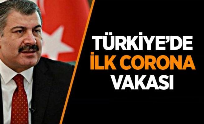 Bakan Koca açıkladı: Corona Türkiye'ye geldi