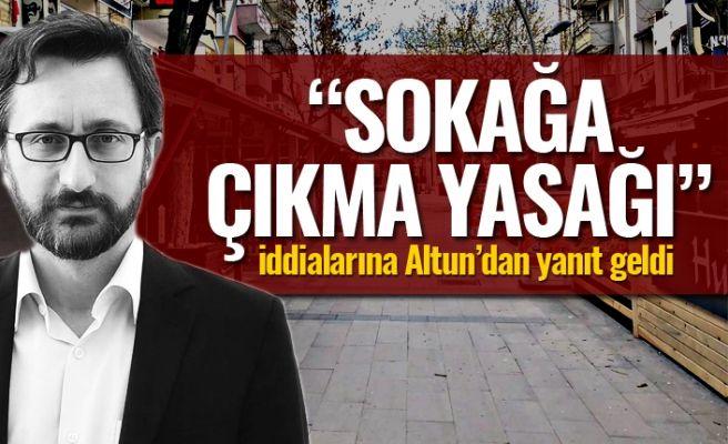 Fahrettin Altun'dan o iddialara cevap