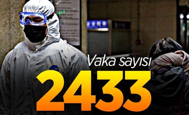 Koronadan ölenlerin sayısı 59'a yükseldi