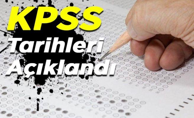 KPSS tarihleri belli oldu!...