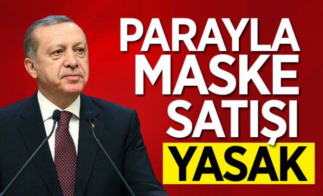 """Cumhurbaşkanı Erdoğan'dan """"maske"""" açıklaması"""