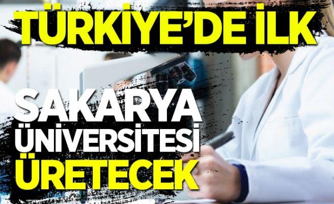 Sakarya Üniversitesi'nden önemli açıklama! Türkiye'de ilk!