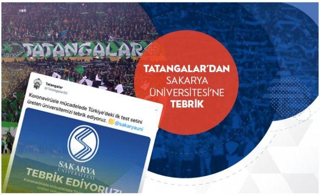 Tatangalar: 'Üniversitemizi tebrik ediyoruz'