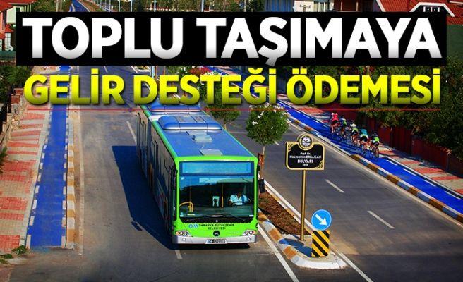Toplu taşımaya gelir desteği ödemesi kararı…