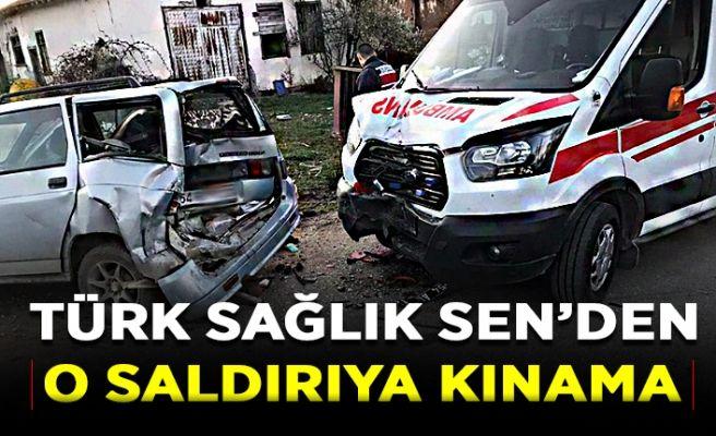 Türk Sağlık Sen'den o saldırıya tepki...