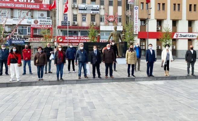 CHP'den sosyal mesafeli alternatif kutlama