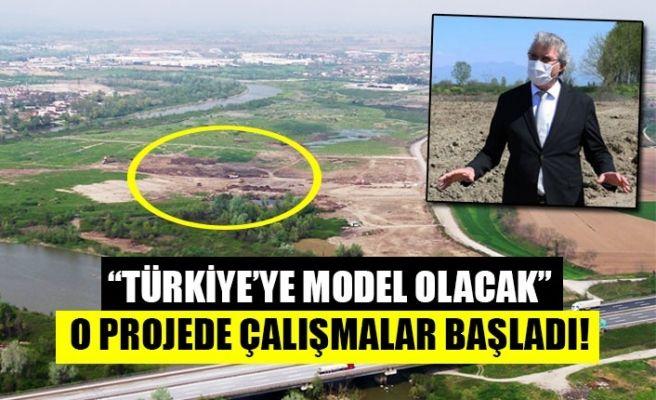 Büyükşehir'in dev tarım projesinde çalışmalar başladı