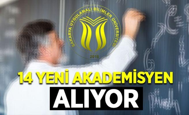 SUBÜ'ye 14 yeni akademisyen alınacak