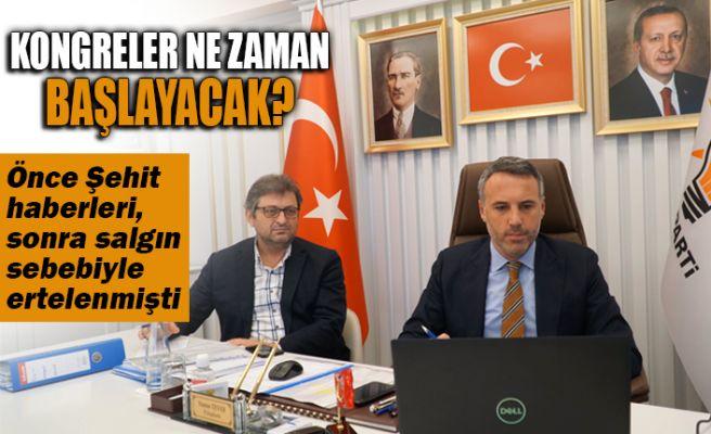 AKP'de ertelenen kongreler ne zaman başlayacak?