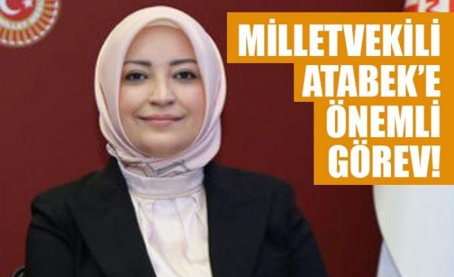 Çiğdem Erdoğan Atabek grup yönetimine seçildi