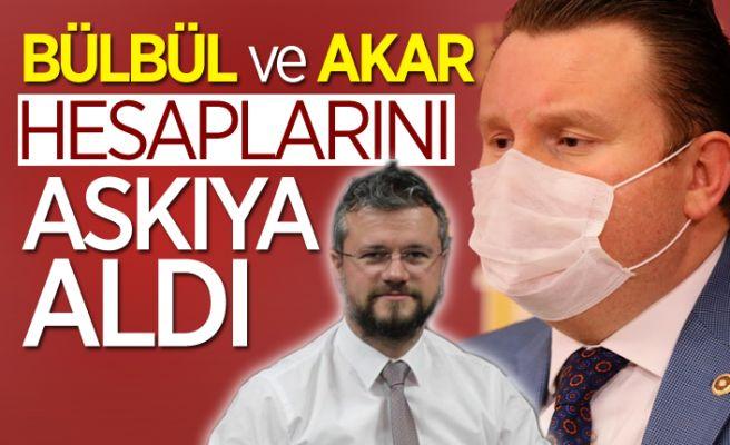Bahçeli'nin o kararına Bülbül ve Akar'dan destek