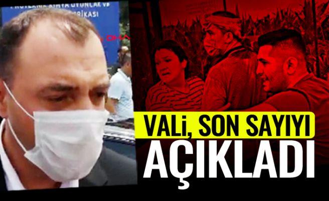 Vali Kaldırım hastanedeki son durumu açıkladı!