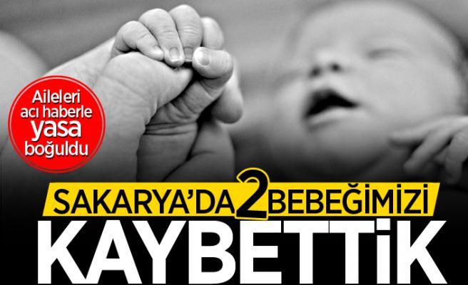 Sakarya'da iki bebeğin ölüm haberi geldi!