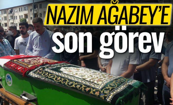 Yüzlerce kişi Nazım Kırdemir'i uğurladı!
