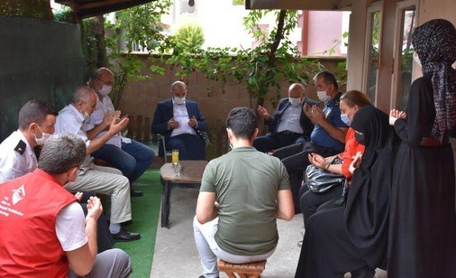 Erenler'de 15 Temmuz Gazilerine ziyaret...