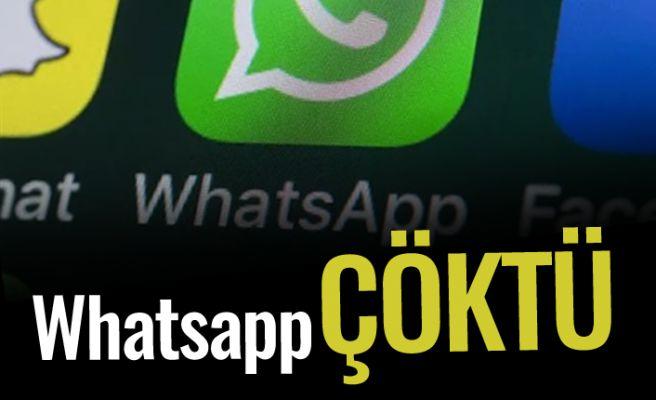 Whatsapp çöktü! Sebebi ne?