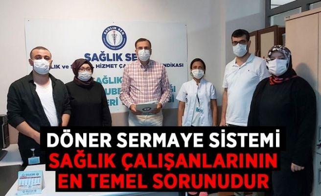Sağlık çalışanlarının döner sermaye isyanı!
