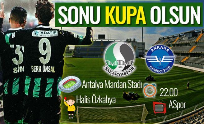 Antalya'da zorlu randevu: Sakaryaspor-Ankara Demirspor