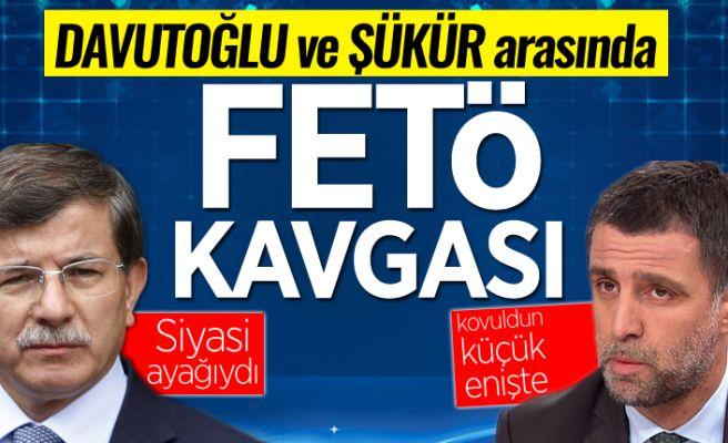 Ahmet Davutoğlu ve Hakan Şükür arasında FETÖ kavgası