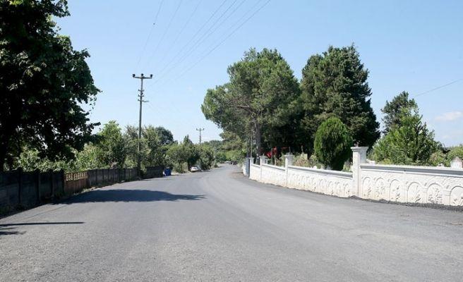 Karasu Tepetarla'nın asfaltı tamam!