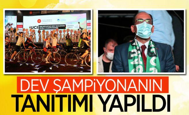 Sakarya'daki bisiklet şampiyonasının lansmanı yapıldı