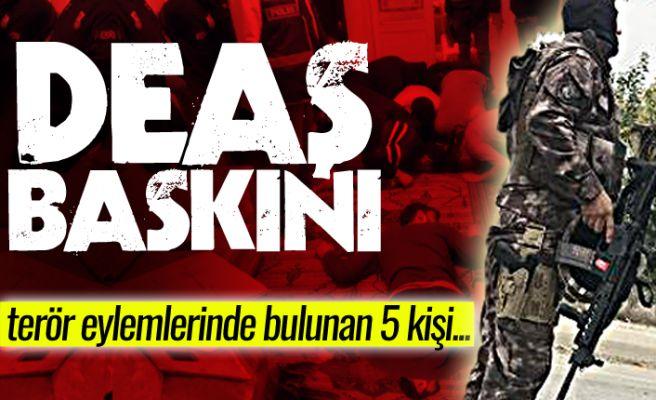 Sakarya'da DEAŞ eylemlerine katılan 5 kişi yakalandı!