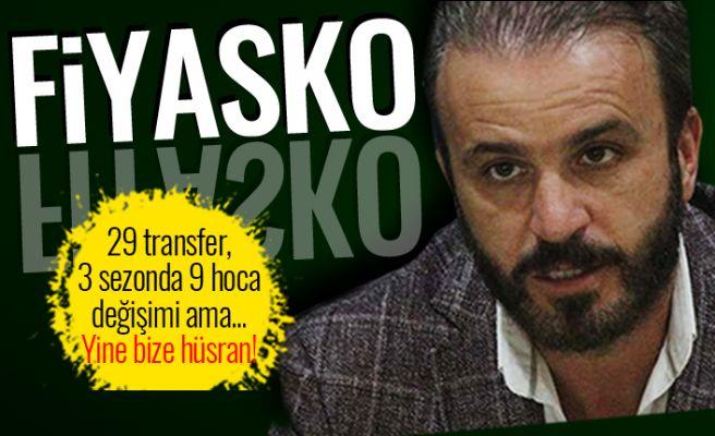 29 transfer, 3 farklı hoca... Yine fiyasko!