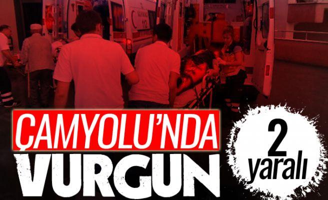 Çamyolu'nda silahlı kavga: 2 yaralı!