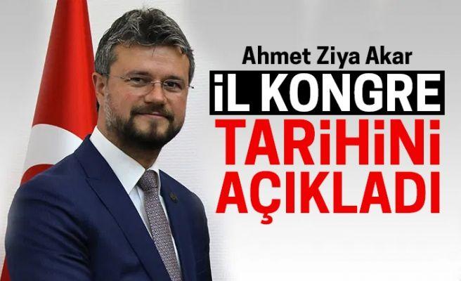 MHP İl Başkanı Akar, il kongre tarihini açıkladı: