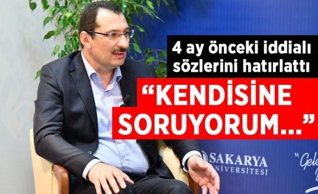 Ak Partili Yavuz'un 4 ay önceki sözlerini hatırlattı!