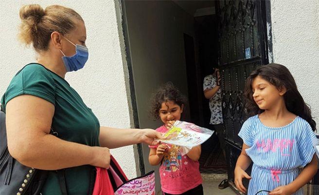 CHP'li kadınlardan okula hazırlık desteği