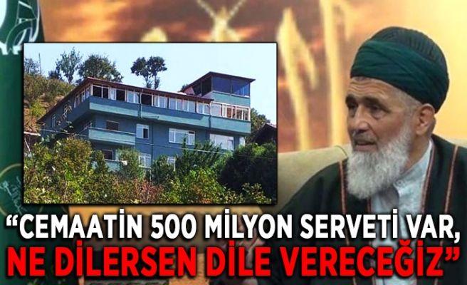 Sapık şeyhin cemaatinden 50 milyon lira teklifi!