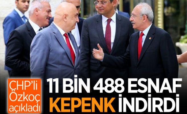 CHP'li Özkoç, Kılıçdaroğlu'na rapor sundu