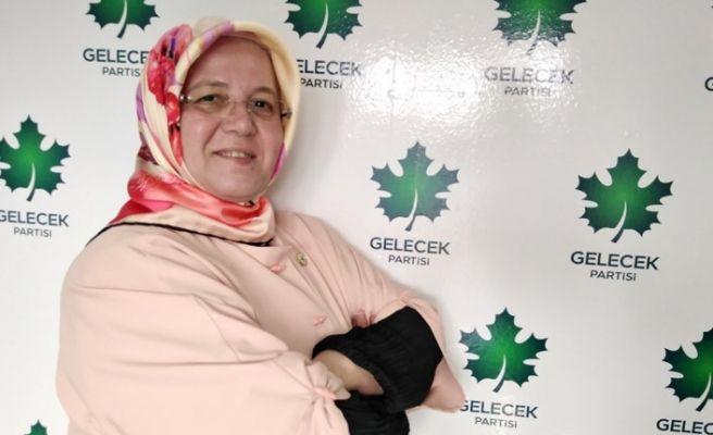 Gelecek Partili kadın başkan korona oldu