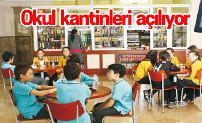 Sakarya'da okul kantinleri için flaş karar
