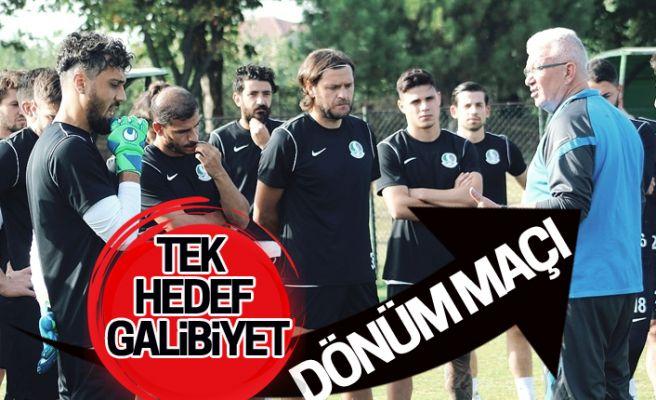 Sakaryaspor'un dönüm maçı