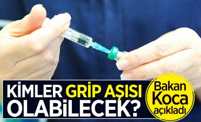 İşte grip aşısının yapılacağı kişiler