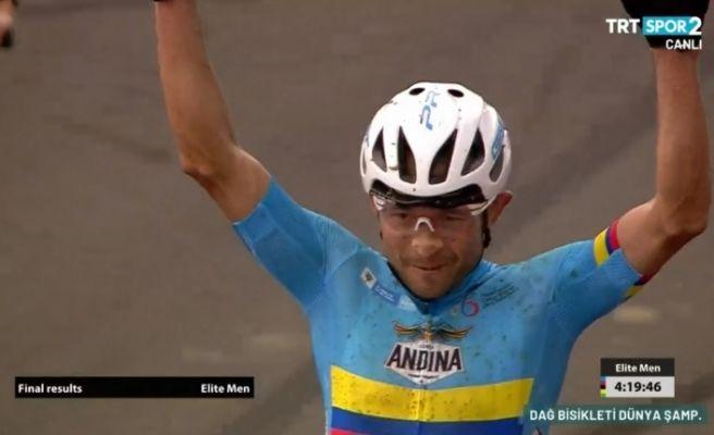 Kolombiyalı Sakarya'da dünya şampiyonu oldu!