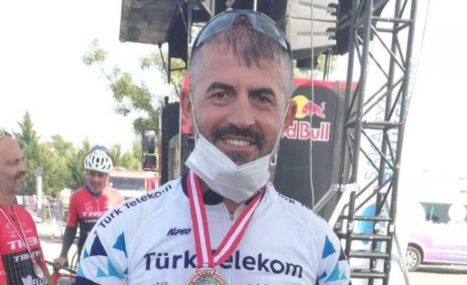 HEM Müdürü Yazıcı bisiklet yarışında 3. oldu